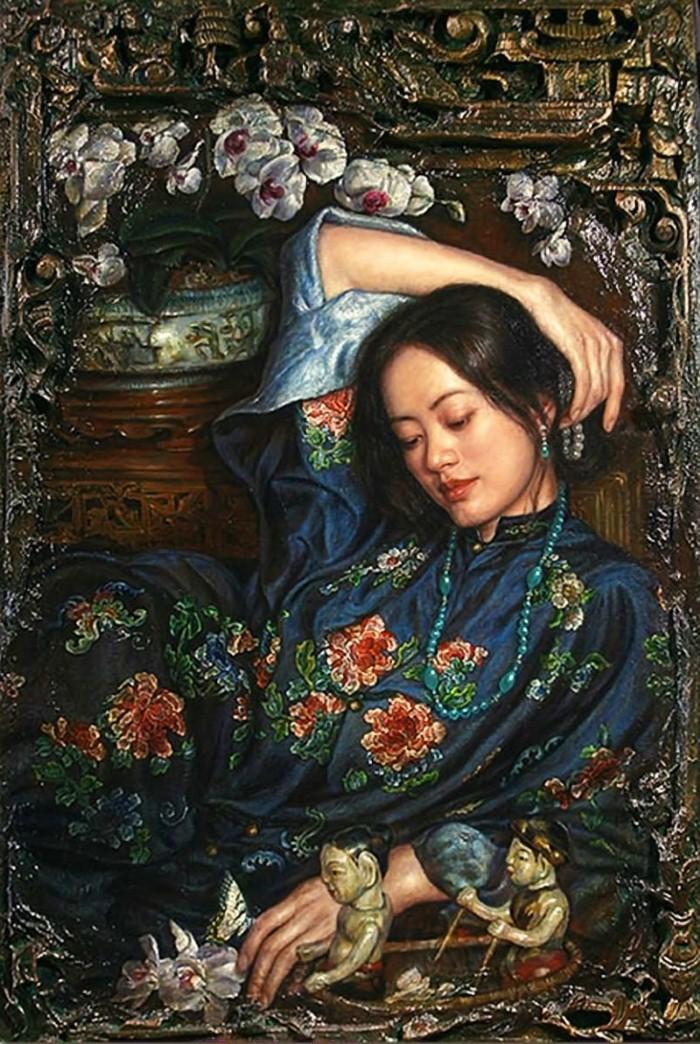 Работы в духе классического романтизма. George Tsui 3