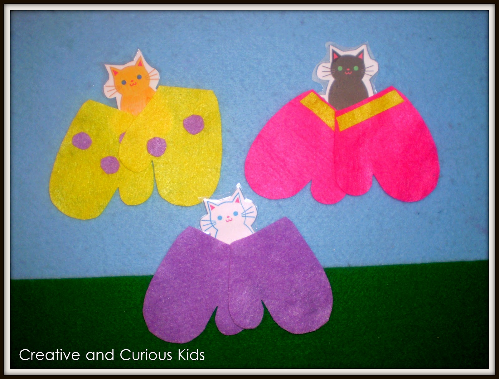 Creative And Curious Kids The Three Little Kitten Activities