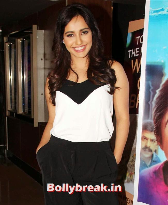 Neha Sharma, Genelia, Sonal, Karishma at Yellow Film Special Screening