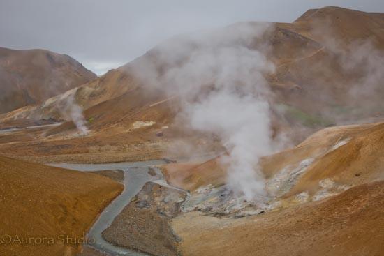ケルリンガルフィヨットル連峰,アイスランド