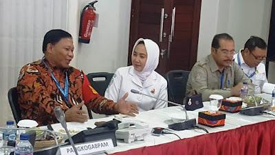 Pangkogabpam IMF-WB 2018 Bersama Kepala BMKG Laksanakan Evaluasi dan Bahas Situasi Terkini di wilayah Bali