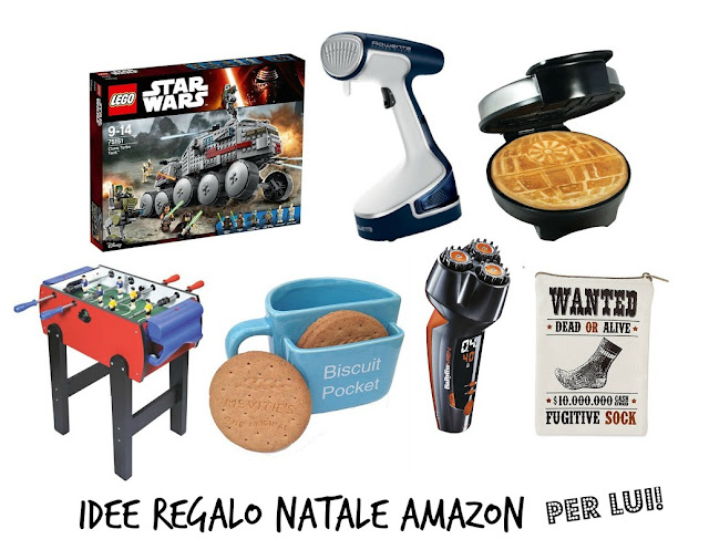 Vita da sbally idee regalo natale amazon per lui scelte for Idee regalo natale moglie