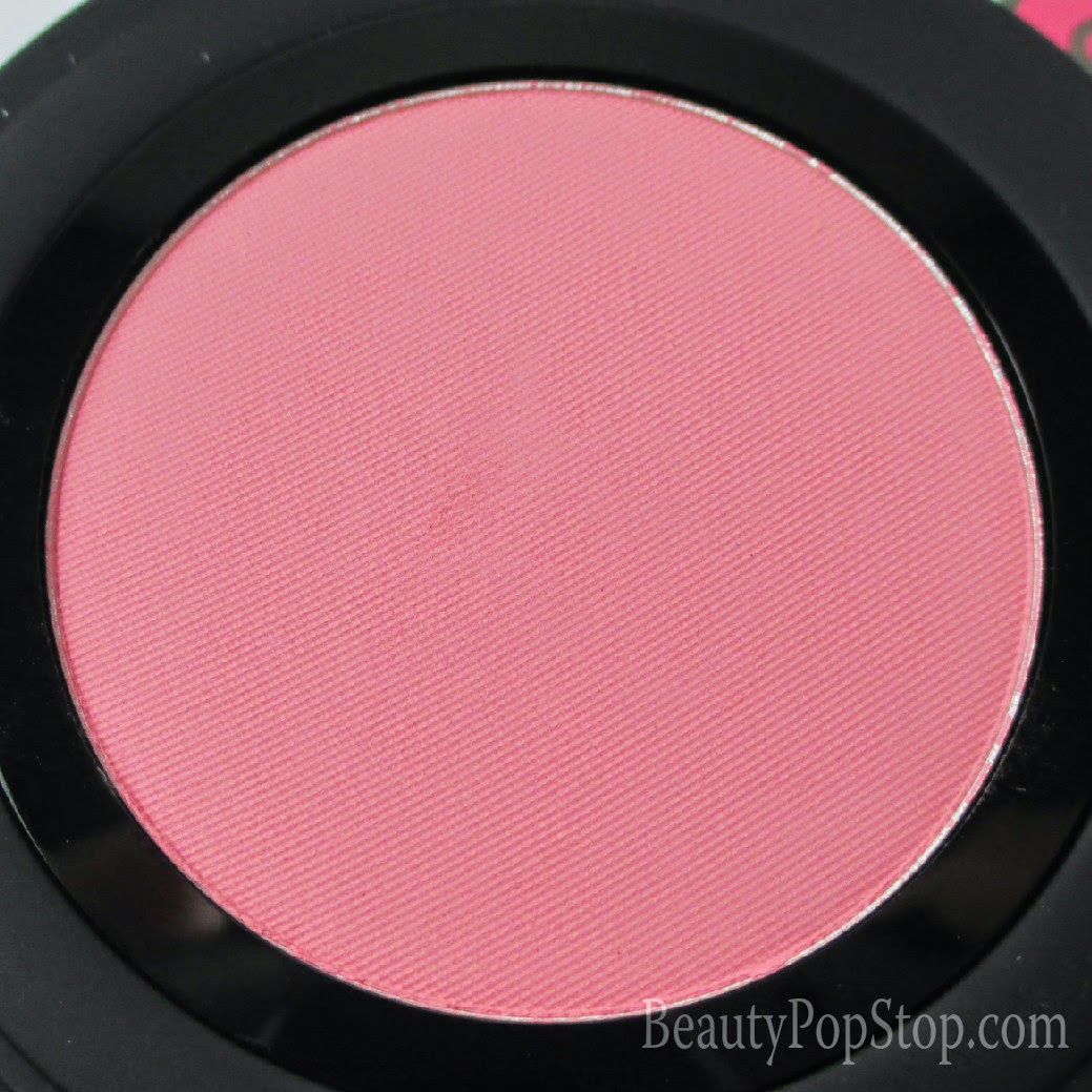 gorgeous cosmetics colour pro powder blush in coral review