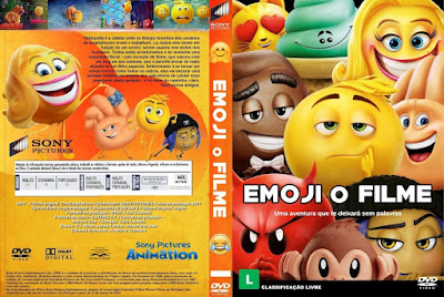 Emoji - O Filme (The Emoji Movie) DVD Capa