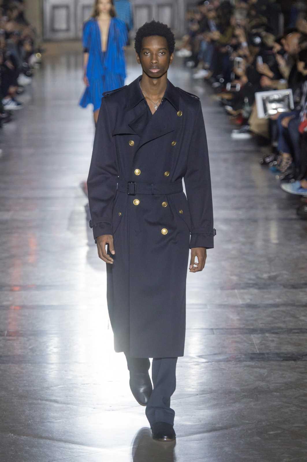 Givenchy Spring Summer 2018 Paris Fashion Week Male