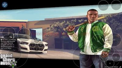 Cara Main GTA V di Android Remote Play