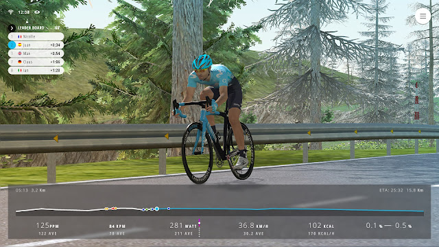 MOVISTAR VIRTUAL CYCLING