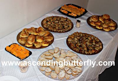 Authentic Bosnian-Herzegovinian hors d'oeuvres prepared by Zlata Ramic