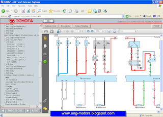 Toyota avensis wiring diagram
