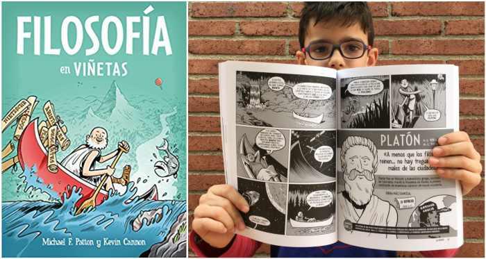los mejores libros informativos para niños, libros conocimientos filosofía en viñetas