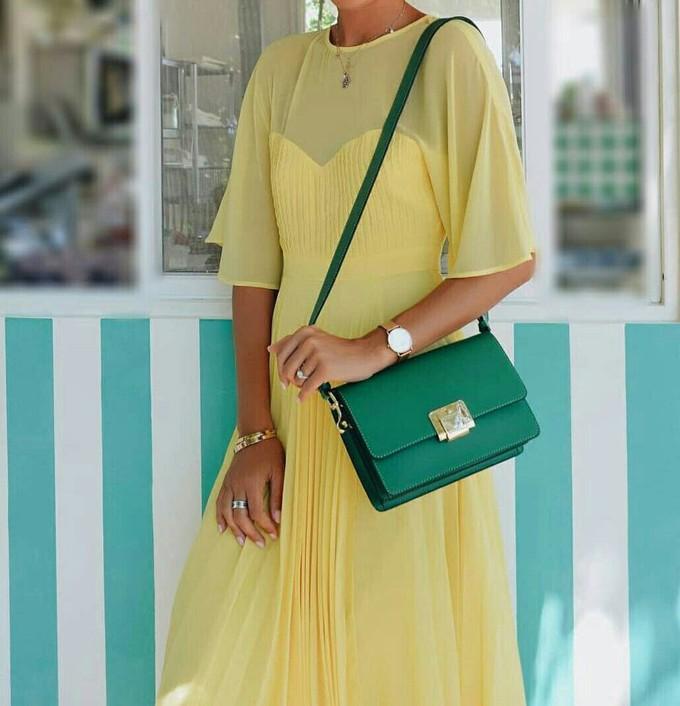Look verde e amarelo