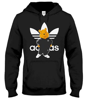Adidas Winnie Pooh Hoodie, Winnie Pooh Adidas Hoodie