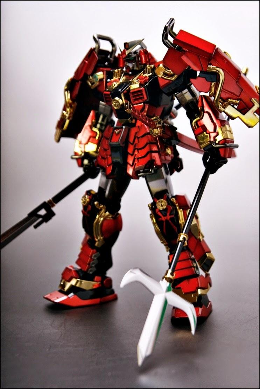 Painted Build Mg 1 100 Shin Musha Gundam Gundam Kits Collection News And Reviews