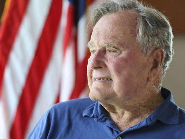 Mengenang Presiden ke-41 AS, George HW Bush