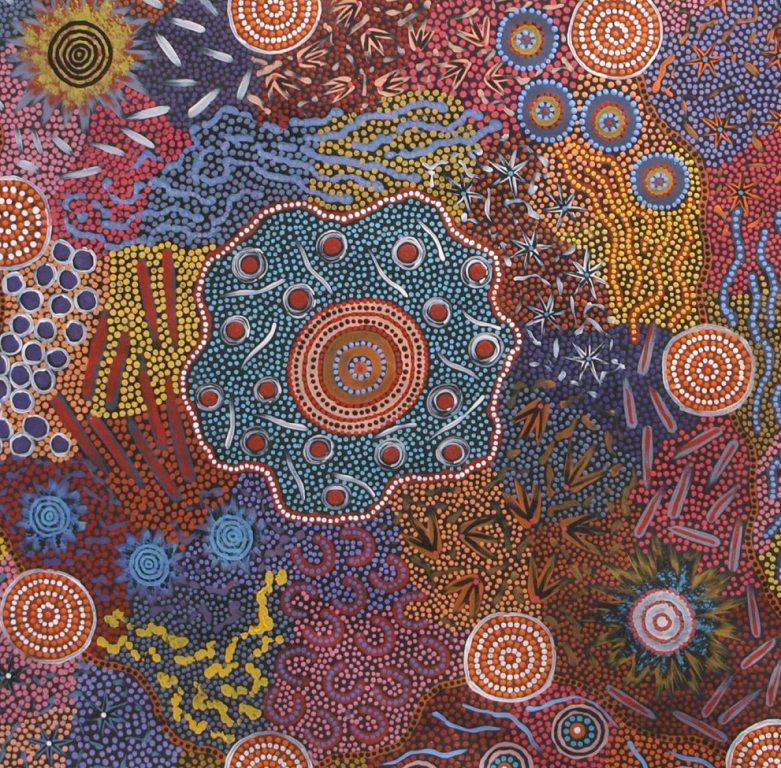 art  u0026 artists  australian aboriginal painting