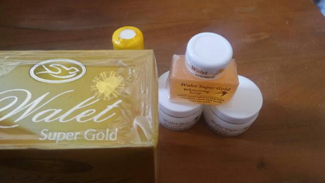 Cream WALET PREMIUM WHITENING SUPER GOLD 24K