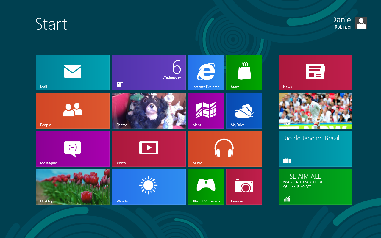 Start menu win 7 cho win 8