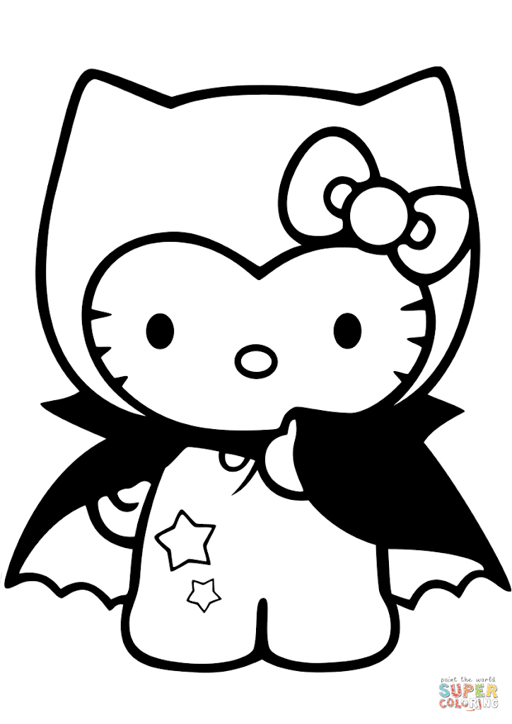 Top hello kitty fall coloring pages drawing free for Hello kitty fall coloring pages