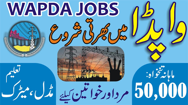 Jobs in WAPDA 2020 Download Application Form