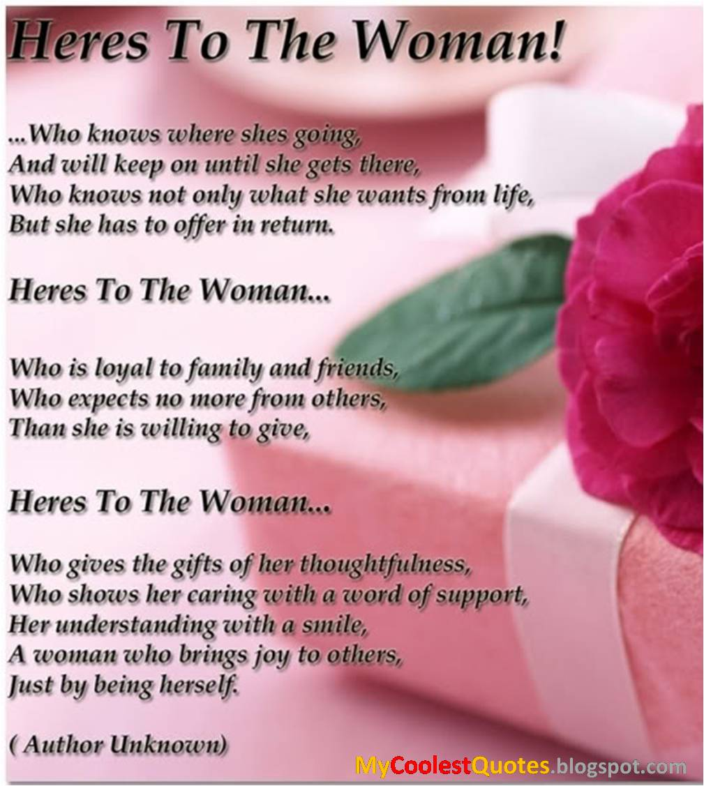 Women S Day Inspirational Quotes: My Coolest Quotes: March 2012