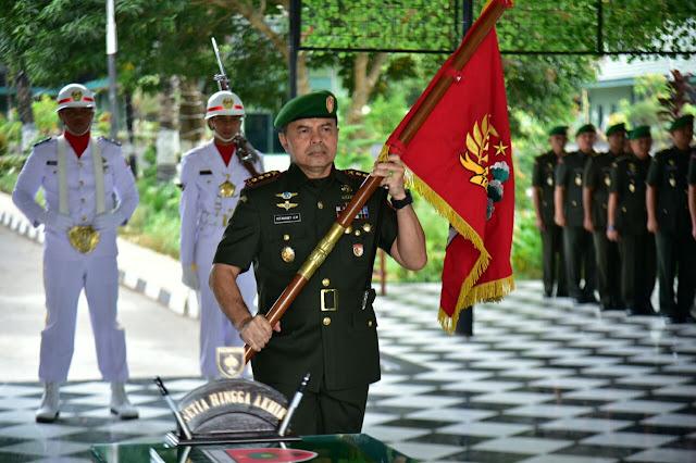 Kolonel Kav Yotanabey, Resmi Tanggalkan Jabatan Danrem 141/Tp