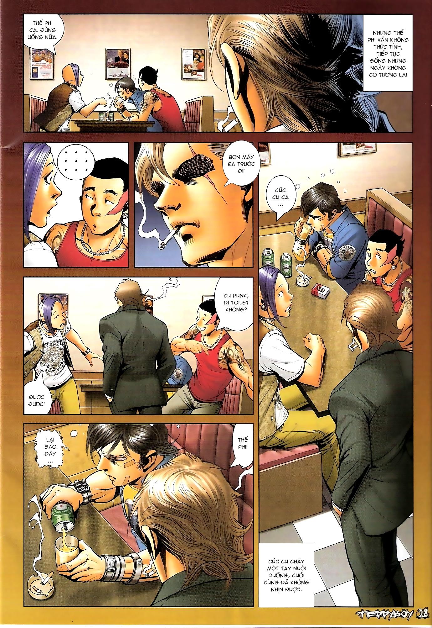 Người Trong Giang Hồ - Chapter 1310: Đừng gạt em nữa - Pic 25