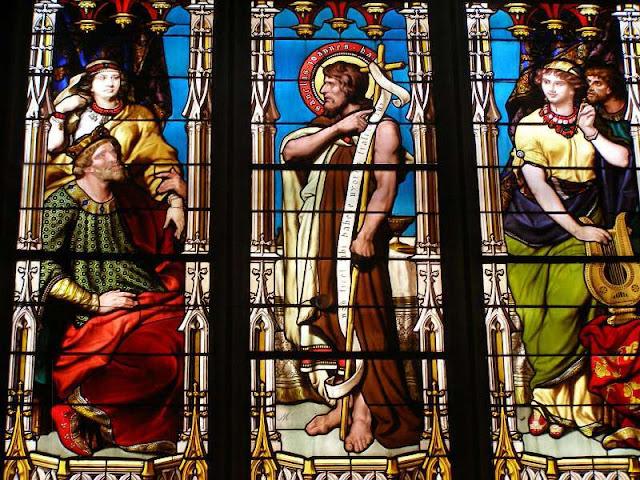 collégiale de Montbrison st Jean Baptiste devant Hérode ©Défrade kt42