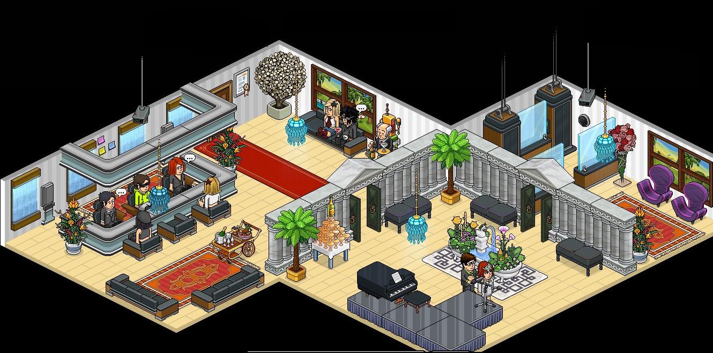 Sala de estar habbo with sala de estar habbo affordable for Casa moderna habbo