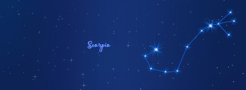 Scorpio facebook cover timeline