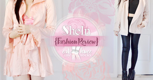 SheIn Fashion Review: Satin Romper + Faux Suede Coat