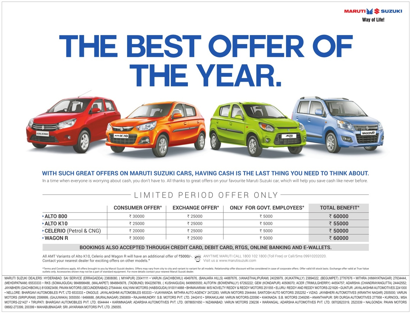 Best Deals In Cars Delhi