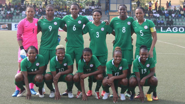 Super Falcons Arrive Cape Coast For 2018 AWCON