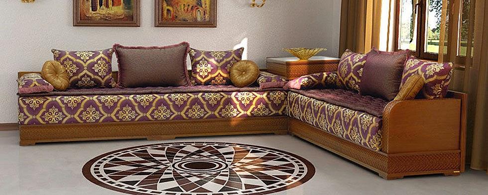 salon design maroc: Tlamet de salon marocain moderne