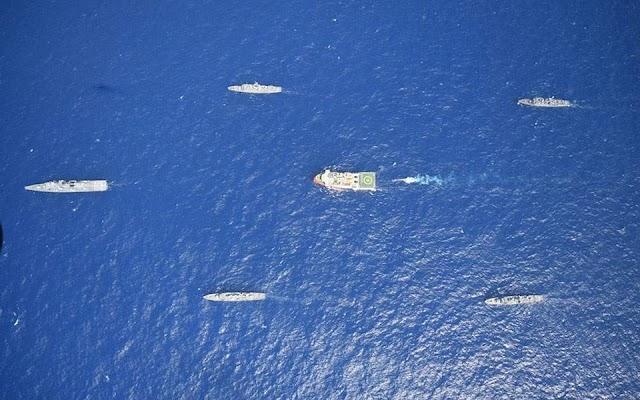 Associated Press: Κίνδυνος ταχείας ανάφλεξης στο Αιγαίο σε περίπτωση σύγκρουσης πολεμικών πλοίων
