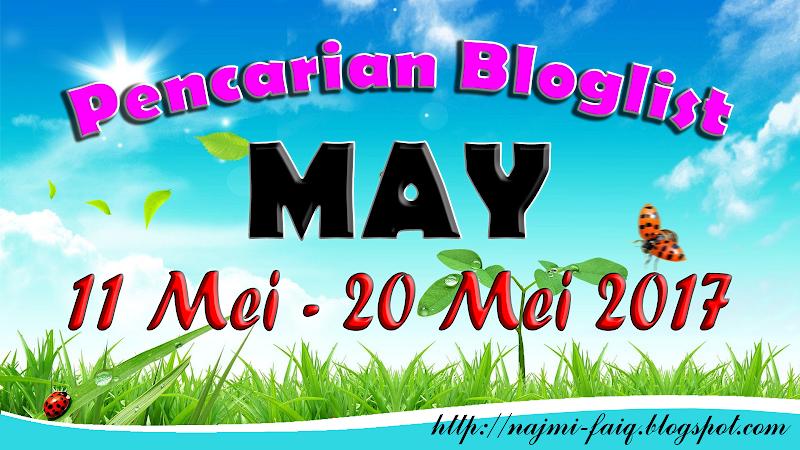 Segmen : Pencarian Bloglist Faiq Najmi