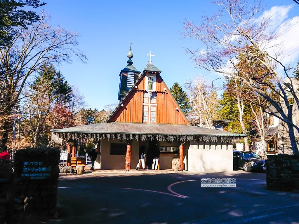 舊輕井澤景點,舊輕井澤銀座通,教堂街,聖保羅天主教堂,輕井澤必去景點