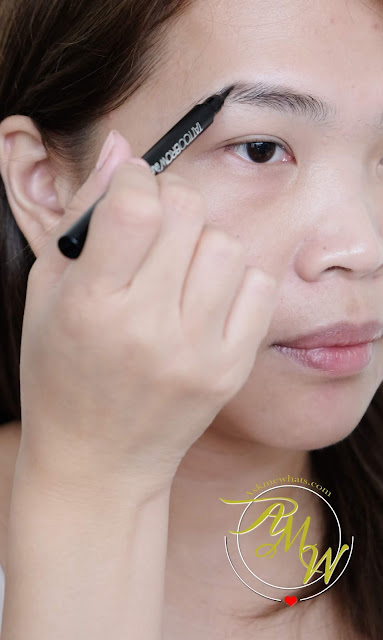 a photo of Maybelline Tattoo Brow Ink Pen Review by Nikki Tiu of www.askmewhats.com