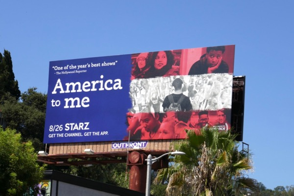 America to Me series billboard