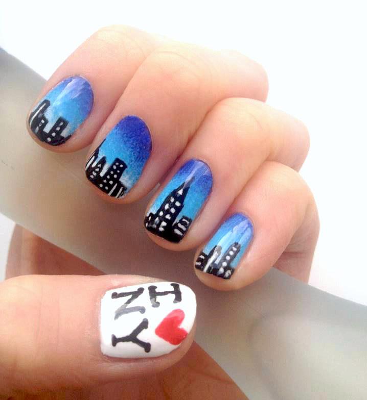 Nails by Mellissa.: New York Nail Art.