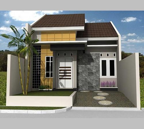 Desain Atap Rumah 2 Lantai Datar Sederhana Modern Terbaru 2019