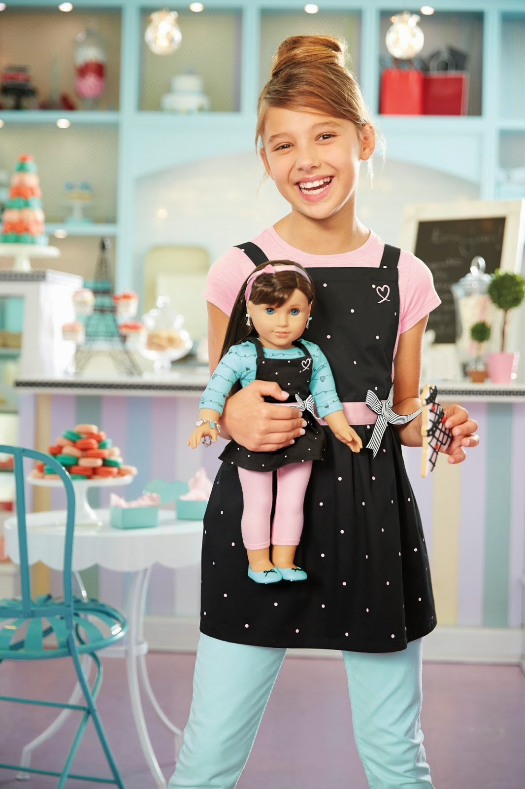 American Girl Grace coloring pages | Small Dolls in a Big World | 1600x1066