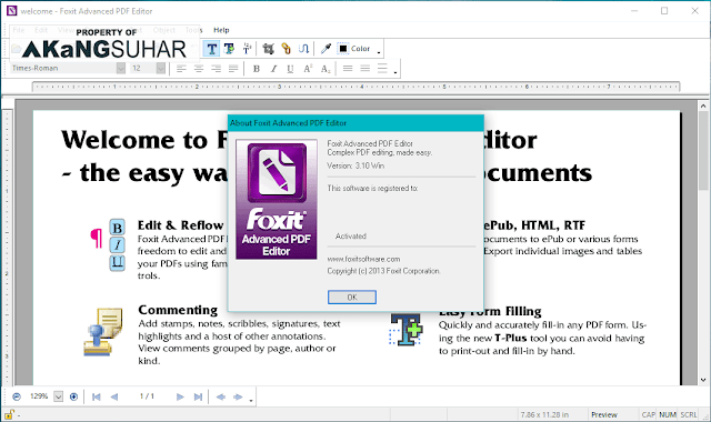 Download Foxit Advanced PDF Editor 3.10 Full Version