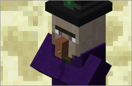 Minecraft Witch Figures