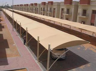 مشاريع المظلات الحكومية والخاصة