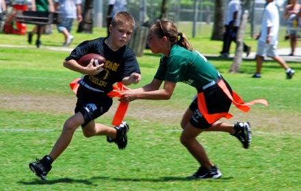 Jogos para Educação Física : Flag Football