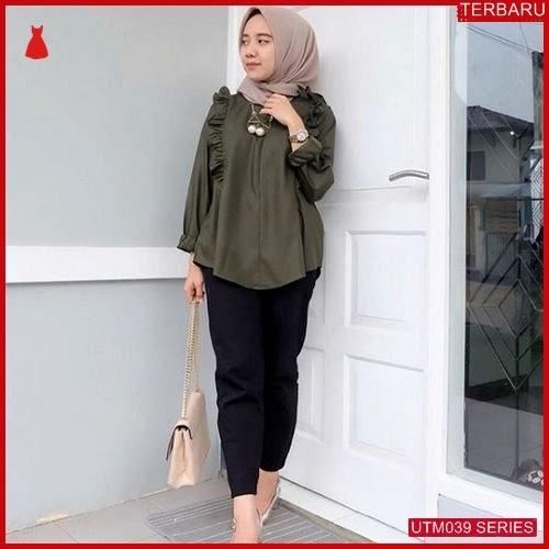 UTM039M51 Baju Mina Muslim Atasan UTM039M51 027 | Terbaru BMGShop