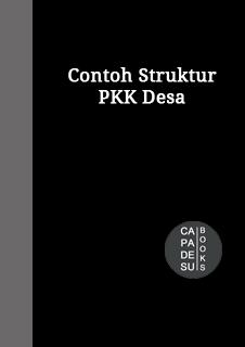 Gambar Struktur PKK Desa