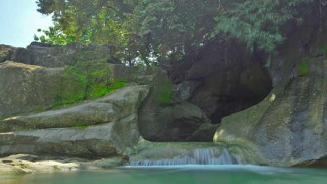 Pemandian Alam Kedung Goro di Boyolali