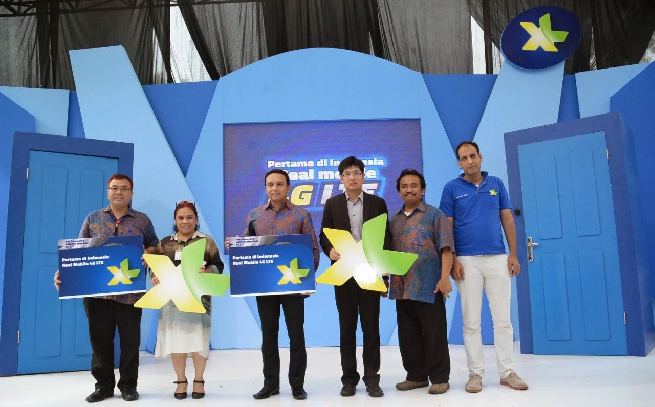 XL Luncurkan Layanan 4G LTE di Medan