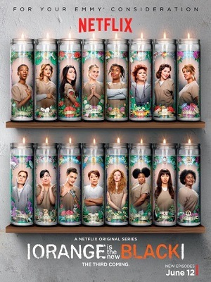 Orange Is the New Black - 3ª Temporada Completa Séries Torrent Download capa